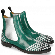 Botki Molly 10 Pine Interlaced Crush Metal