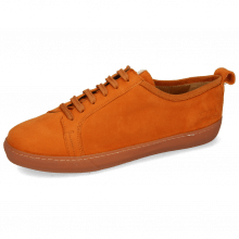Sneakersy Amber 1 Sheep Suede Orange Patch