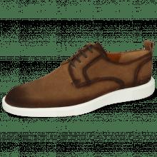 Sneakersy Newton 4 Suede Pattini Tan Shade Dark Brown