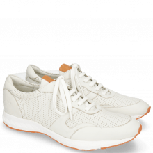 Sneakersy Blair 11 Nappa Perfo White