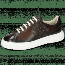 Sneakersy Harvey 47 Monza Dark Brown M&H Crown