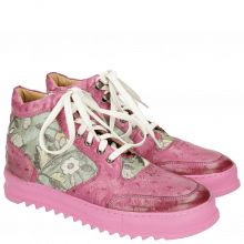 Sneakersy Maxima 1 Ostrich Dark Pink Brocade Verde