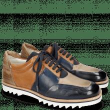Sneakersy Niven 17 Pavia Navy Stone Tan
