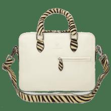 Torebki Vancouver Vegas White Hairon Zebra