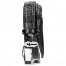 Paski Linda 1 Crock Black Sword Buckle