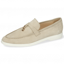 Mokasyny Adley 3 Oily Suede Off White Accessory