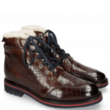 Botki Trevor 5 Crock Mid Brown Lining Fur