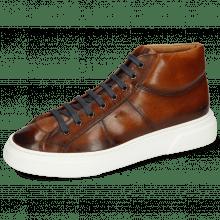 Sneakersy Mick 1 Pavia Tan Shade Dark Brown