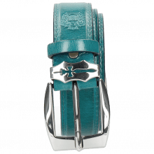 Paski Larry 1 Turquoise Sword Buckle