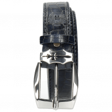 Paski Larry 1 Crock Navy Sword Buckle