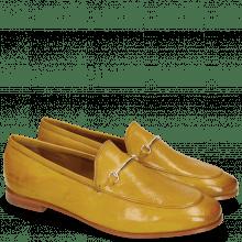 Mokasyny Scarlett 22  Pisa Yellow Trim Gold