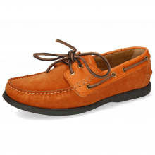 Buty żeglarskie Jason 1 Suede Pattini Orange Rio Orange