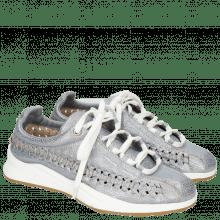 Sneakersy Nelli 1 Grafi Silver