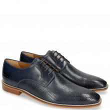 Derby Alex 1 Venice Perfo Navy