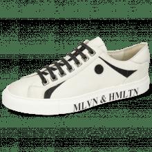 Sneakersy Harvey 9 Nappa White Crock Black