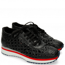 Sneakersy Nadine 5 Woven Black