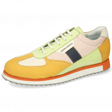Sneakersy Nadine 1 Nubuck Kumquat Cream Lime Rose