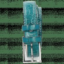 Paski Linda 1 Crock Turquoise Classic Buckle