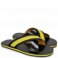 Sandały Sam 5 Black Elastic Rifra