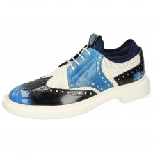 Derby Ron 2 Brush Off Multi Blue Perfo White Turtle Mid Blue