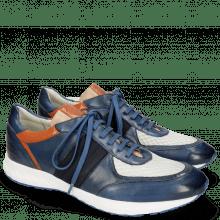Sneakersy Blair 13 Vegas Navy Glove Nappa Deep Kumquat Lycra