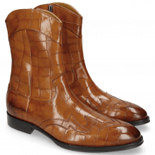 Botki Kane 28 Turtle Wood Lining Rich Tan