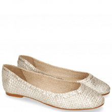 Baleriny Kate 5 Woven Cherso Bisque