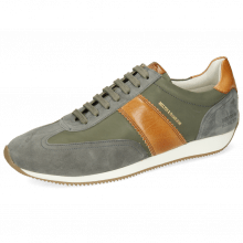 Sneakersy Rocky 3 Oily Suede Grey Flex Vegas Tan