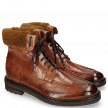 Botki Trevor 31 Turtle Tan Sherling Camel