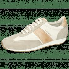 Sneakersy Rocky 3 Oily Suede Off White Flex Nude Nappa Honey