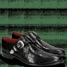 Monki Toni 24 Crock Black Toe Gunmetal