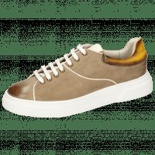 Sneakersy Harvey 52 Como Chestnut Vegas Yellow Shade Dark Brown
