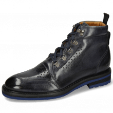 Botki Trevor 5 Classic Navy Laces Blue Lining