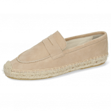 Espadryle Bree 2 Suede Off White