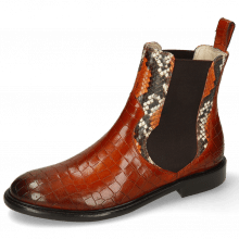 Botki Sally 113 Crock Winter Orange King Snake