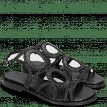 Sandały Sandra 44 Mignon Black