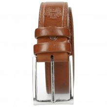 Paski Larry 1 Tan Classic Buckle