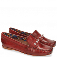 Mokasyny Bridget 3 Milano Rich Red