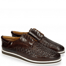 Sneakersy Harry 1 Mid Brown Woven Lining Rich Tan