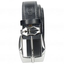 Paski Larry 1  Navy Sword Buckle
