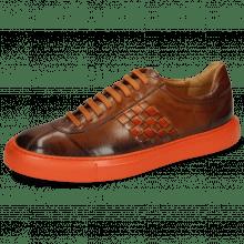 Sneakersy Harvey 7 Wood Shade Mid Brown Interlaced Winter Orange