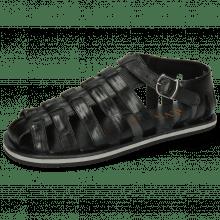Sandały Sam 3 Black Modica Black EVA Grey