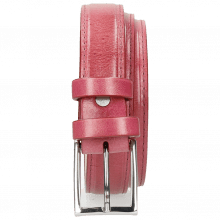 Paski Linda 1 Dark Pink Classic Buckle