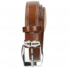 Paski Linda 1 Mid Brown Sword Buckle