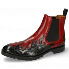 Botki Tom 29 Flame Black Ruby