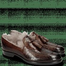 Mokasyny Clint 6 Crock Mid Brown Fur