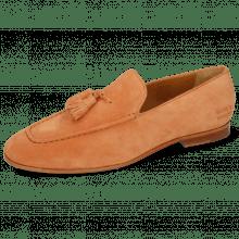 Mokasyny Clive 20 Suede Pattini Orange