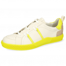 Sneakersy Harvey 31 Vegas White Fluo Yellow TC Natural