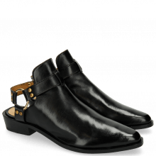 Botki Marlin 11 Black Rivets