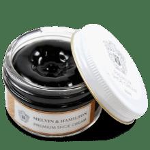 Pasta do butów & mleko Black Cream Premium Cream Black